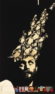 James Powditch. Ben Quilty, where is my mind? (after the Pixies) Image courtesy of Art Gallery of NSW