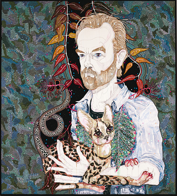 Del Kathryn Barton. hugo. 2013 Archibald Prize Winner.Image courtesy of Art Gallery of NSW